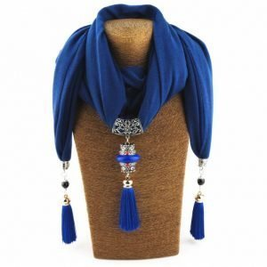 Women's Nepal Queen Necklace Scarf 13