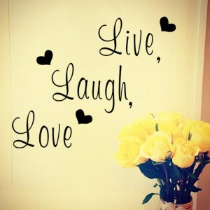 Live Laugh Love Wall Sticker 4