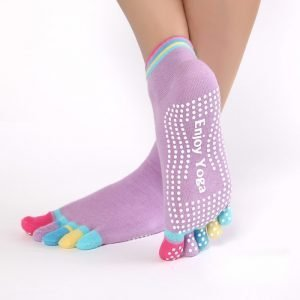 Women's Enjoy Yoga Sports Socks 4